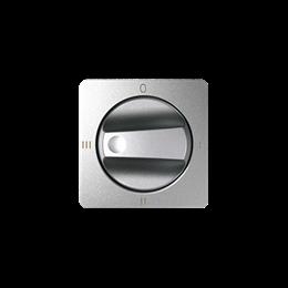 Pokrywa łącznika pokrętnego (4 pozycje) aluminium zimne-251150