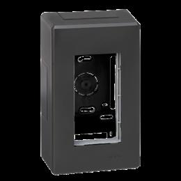 Obudowa natynkowa SIMON 500 1×S500 2×K45 szary grafit-255785