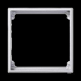 Adapter SIMON 500 1× K45 50×50mm aluminium-256221