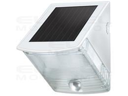 Lampa ścienna SOL 04 plus IP44 z czujnikiem ruchu na promieniowanie podczerwone 2xLED 0,5W 85lm Kolor Szaro-biała-248460