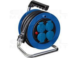 Brennenstuhl Przedłużacz bębnowy Garant Kompakt 8m H07RN-F 3G2,5 (8m czarny kabel, do użytku wewnętrznego, Made in Germany)-2478