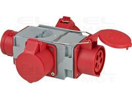 Adapter CEE 16A 3P+N+PE (5p) 400V-247922