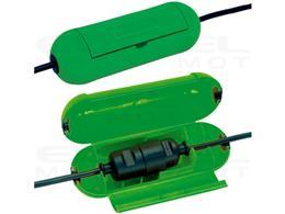 Brennenstuhl Safe-Box / puszka ochronna na kable przedłużające (kapsuła ochronna na kable, do zastosowań wewnętrznych) zielona-2