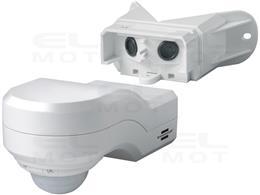 Detektor ruchu na podczerwień PIR 240, IP44 Biały-248478