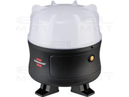 Brennenstuhl Reflektor LED 360° / Reflektor budowlany LED 30W (Reflektor roboczy 3000lm, z akumulatorem Li-lon, maks. czas świec