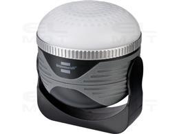 Brennenstuhl Latarka OLI 310 AB z głośnikiem Bluetooth® (lampa kempingowa LED z magnesem i hakiem / lampa kempingowa z głośnikie