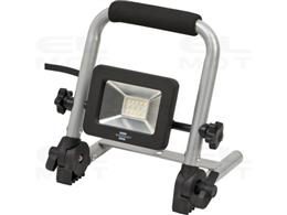 Brennenstuhl Mobilny reflektor LED EL 750 M / lampa robocza 10W do użytku wewnątrz i na zewnątrz IP65 (reflektor budowlany 900lm