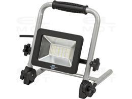 Brennenstuhl Mobilny reflektor LED EL 2050 M / lampa robocza 30W do użytku wewnątrz i na zewnątrz IP65 (reflektor budowlany 2700