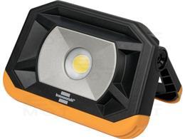 Brennenstuhl Lampa robocza LED PF 1000 MA / Reflektor budowlany LED w kieszonkowym formacie do użytku na zewnątrz (lampa kemping