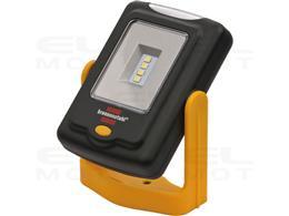 Brennenstuhl Latarka LED / lampa robocza LED SMD w praktycznym rozmiarze kieszonkowym o czasie świecenia do 24h (200+20lm, obrac