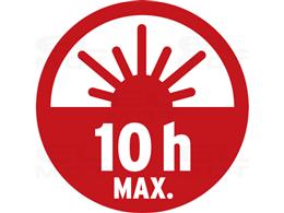 Brennenstuhl Latarka HL 500 A / lampa warsztatowa z magnesem i 6 diodami SMD-LED (latarka taktyczna o max. czasie świecenia 10h,