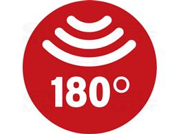 Reflektor LED AL 2050 P z czujnikiem ruchu na podczerwień 20W, 2080lm, IP44-257909
