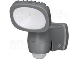 Brennenstuhl LUFOS Reflektor LED z bateriami / Kinkiet Zewnętrzny z baterią i czujnikiem ruchu (Oświetlenie zewnętrzne z 4 wysok