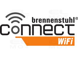 brennenstuhl®Connect LED Reflektor WiFi z czujnikiem ruchu WF 2050 P 2400lm, PIR, IP54      -257981