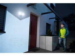 brennenstuhl®Connect LED WiFi Reflektor Duo z czujnikiem ruchu WFD 3050 P 3500lm, PIR, IP54-258034