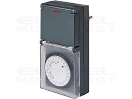 Brennenstuhl MZ 44 zegar sterujący / programator czasowy (wyłącznik czasowy, stopień ochrony IP44, z podwyższoną ochroną styków
