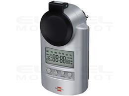 Brennenstuhl Primera-Line zegar sterujący DT IP44 / programator czasowy (wyłącznik czasowy, stopień ochrony IP44 i zwiększona oc