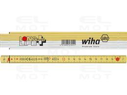 Wiha Przymiar składany Longlife Plus 2 m metryczny, 10 ogniw (27055)-212600
