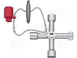 Wiha Klucz do szaf sterowniczych kształt krzyżowy (36114)-210023