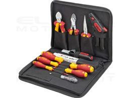 Wiha Zestaw narzędzi dla elektryków mieszany 13-cz. wraz z pokrowcu na narzędzia (36389)-204093