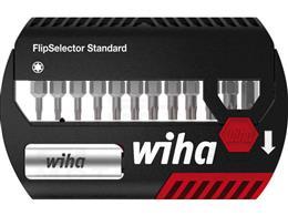 """Wiha Zestaw bitów FlipSelector Standard 25 mm TORX 1/4"""" 14-cz. (39124)-203317"""