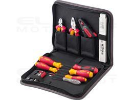 Wiha Zestaw narzędzi dla elektryków mieszany 32-cz. wraz z pokrowcu na narzędzia (41241)-204080