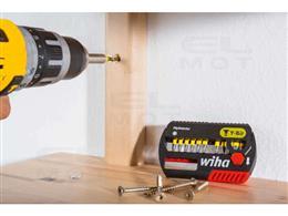 """Wiha Zestaw bitów Y 25 mm TORX (T30) 5-cz. 1/4"""" w kasecie (41596)-202939"""