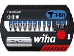"""Wiha Zestaw bitów FlipSelector, bit T 25 mm Phillips, Pozidriv, TORX 14-cz. 1/4"""" (41824)-201627"""