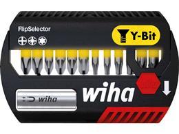 """Wiha Zestaw bitów FlipSelector, bit Y 25 mm Phillips, Pozidriv, TORX 14-cz. 1/4"""" (41827)-201671"""