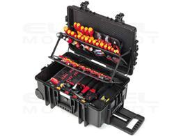 Wiha Zestaw narzędzi dla elektryków Competence XXL II zestaw mieszany wraz z skrzynce narzędziowej 116-cz. (42069)-204055
