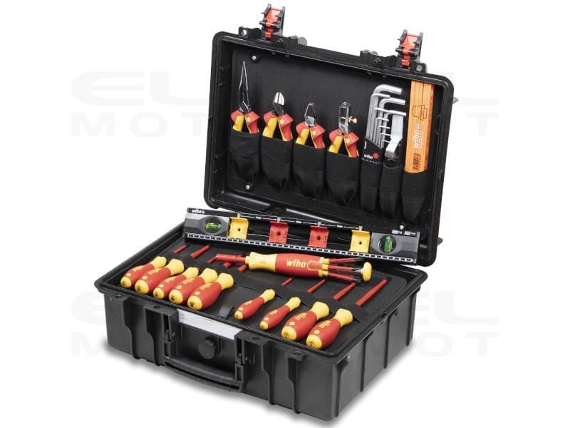 Wiha Walizka narzędziowa Basic L electric 34 cz. (44505)-238013