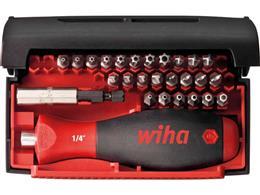 """Wiha Zestaw bitów Collector Security Standard 25 mm i bity skrętne mieszany 1/4"""" 28-cz. wraz z kasecie (09393)-203070"""