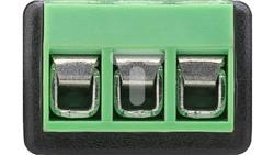 Gniazdo jack 3,5mm (3-pinowy, stereo) - mocowanie śrubowe 76746 /10szt./-23703