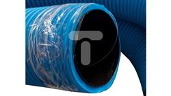 Rura osłonowa karbowana niebieska fi 160 KF 160N /25m/-34927