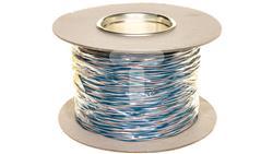 Przewód montażowy TDY 2x0,5 biało-niebieski /500m/-32805