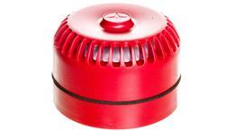 Sygnalizator akustyczny pożarowy z niską podstawą, konwencjonalny, Satel SPP-100-75663
