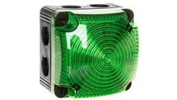 Sygnalizator ostrzegawczy zielony 24V DC LED stały IP66 853.200.55-75595