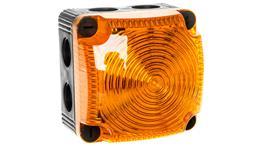 Sygnalizator ostrzegawczy żółty 24V DC LED stały IP65 853.300.55-75600