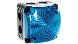 Sygnalizator ostrzegawczy niebieski 115-230V AC LED stały IP66 853.500.60-75601