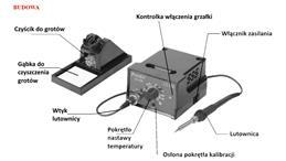 Stacja lutownicza SS-206B 60W Pro's Kit 20016-75486