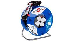 Przedłużacz bębnowy Garant 50m 4x230V H05VV-F 3G1,5 czarny 1208064-30543