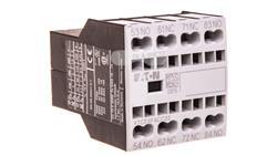 Styk pomocniczy 2Z 2R montaż czołowy zacisk sprężynowy DILA-XHIC22 276532-18560